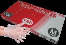 ポリ手袋 エブノ シルキータッチ35