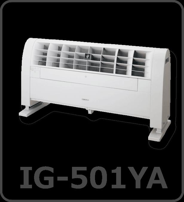 プラズマクラスターイオン発生機IG-501YA